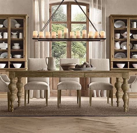 Dining Room Tables Restoration Hardware by Grand Baluster Dining Tables Restoration Hardware