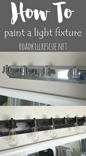 how to remove rust from bathroom light fixture update your dated ceiling fan easy paint diy
