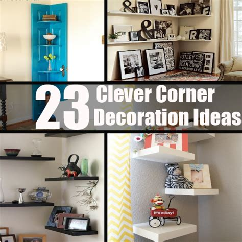 Home Corner Decoration Ideas by 23 Clever Corner Decoration Ideas Diy Home Things