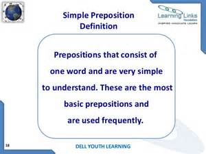 My Writing Desk Prepositions