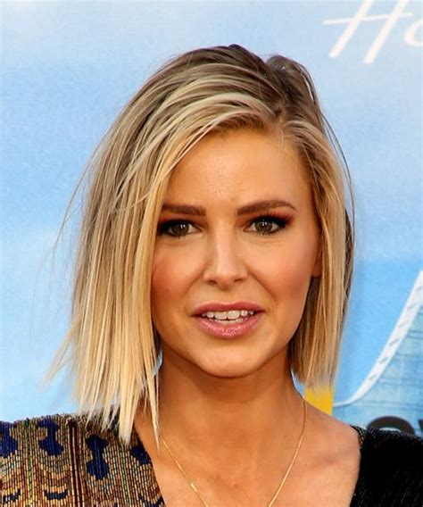 hair cut rules for rules faces ariana madix medium straight casual bob hairstyle light