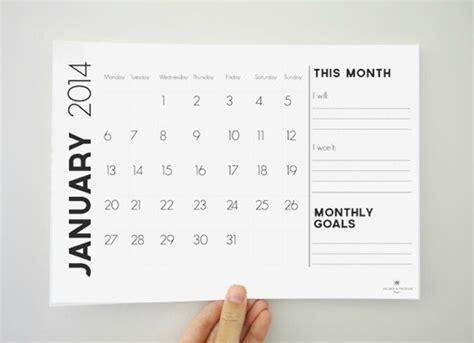 design calendar modern modern minimal downloadable calendars for 2014 design