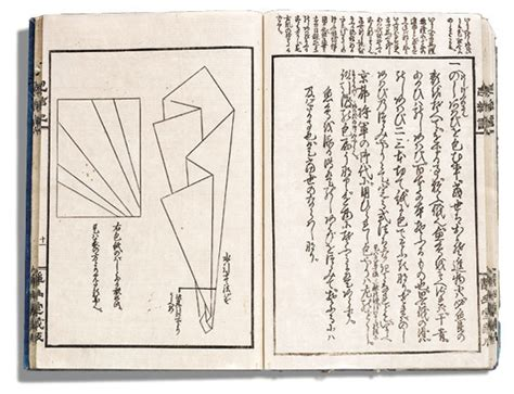 Japanese Origami History - history of origami from past t