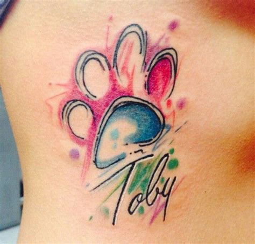 tattoo dövme printer yazici m 225 s de 25 ideas incre 237 bles sobre tatuajes patitas de perro