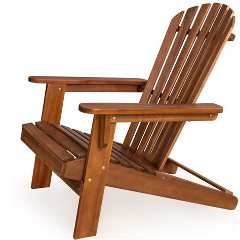 Wooden Patio Chair Wooden Foldable Chair Adirondack Wood Patio Outdoor Garden Deck Furniture New