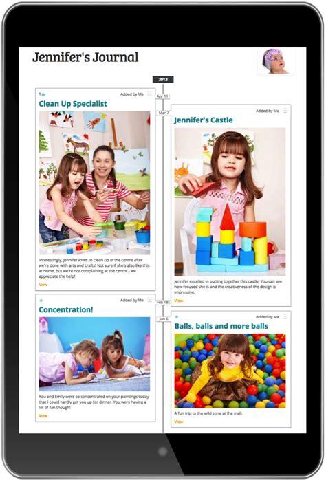 Himama Early Childhood Online Portfolios Child Care Portfolio Templates