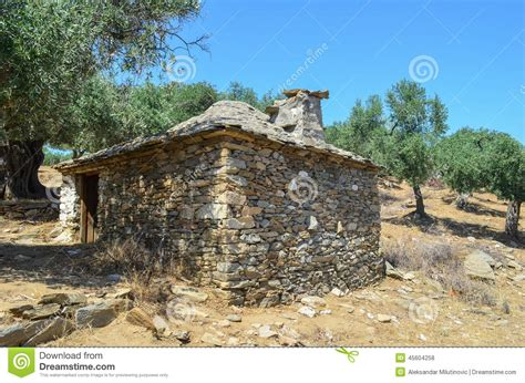 Vieille Maison En by Vieille Maison En Grecque Photo Stock Image 45604258