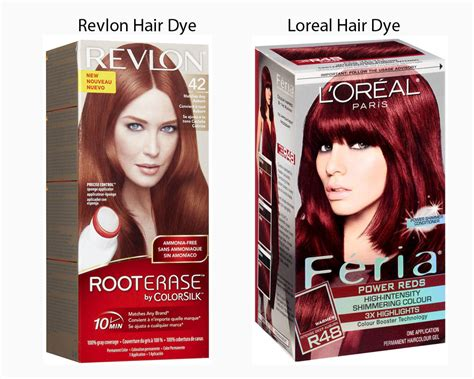 loreal hair dye colors revlon vs loreal hair dye ilookwar