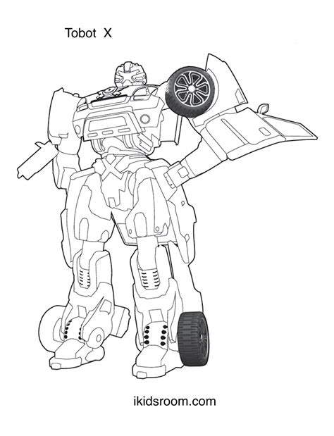 x coloring pages tobot coloring pages tobots x y z w titan and boys
