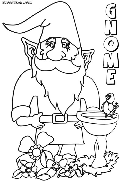 gnome coloring pages gnome coloring pages 22 best gnomes images on gnomes