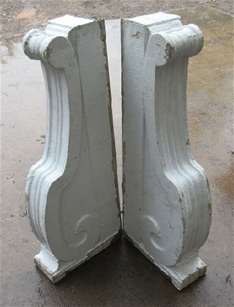 Corbel Course Wood Corbel Pair Recycling The Past Architectural Salvage