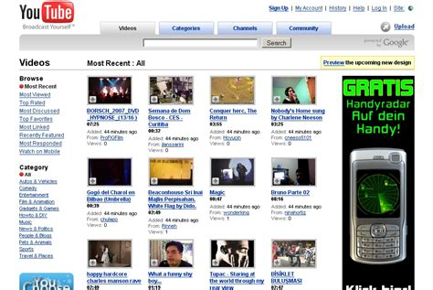 product layout youtube old youtube layout google product forums