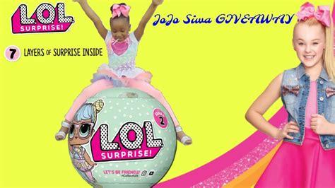 Lol Giveaway - jojo siwa giveaway new lol dolls hunting toys r us target doovi