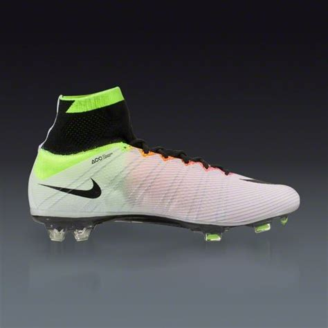 buy nike football shoes buy nike mercurial superfly fg white volt total orange