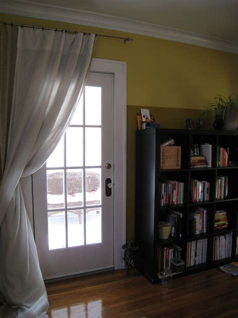 curtains above window extra weatherproofing with a curtain merrypad