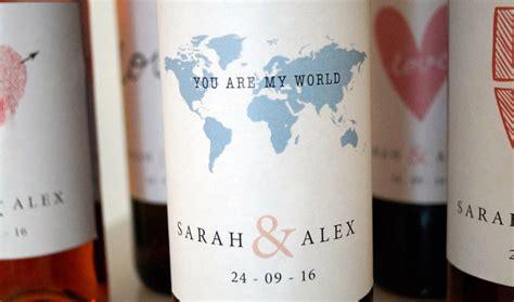 Aufkleber Weinflaschen Hochzeit by Tolle Diy Hochzeitsdeko Flaschenetiketten Mit Euren Namen