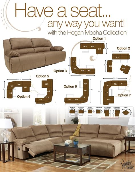 5 piece sectional sofa with chaise 5 piece motion sectional with left chaise by signature