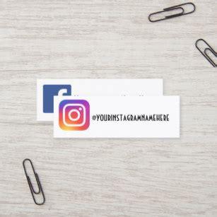 Instagram Business Cards Templates Zazzle Instagram Business Card Template
