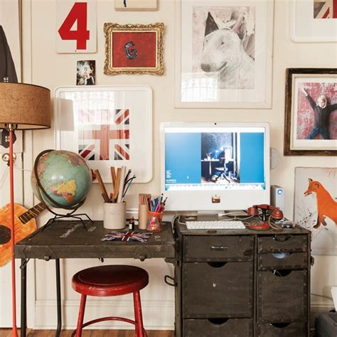 fun home decor fun and eclectic home office home office decorating