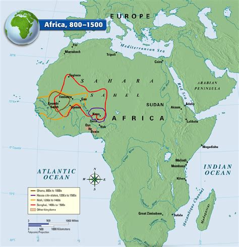africa map 1500 a map showing kingdom from 800 1500 ce the