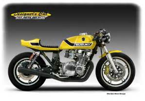 Suzuki Gs Cafe Racer Racing Caf 232 Caf 232 Racer Concepts Suzuki Gs 1100 Quot Yellow