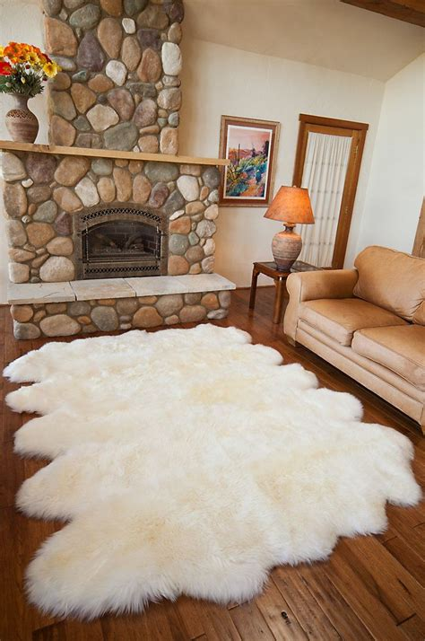 10 pelt sheepskin rug 10 pelt australian sheepskin rug room and house