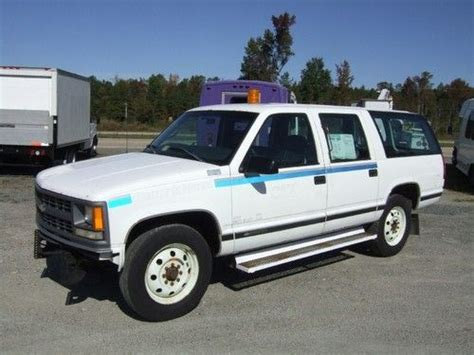 how it works cars 1997 chevrolet suburban 2500 parking system purchase used 1997 chevrolet suburban 2500 barn doors no reserve in providence forge virginia