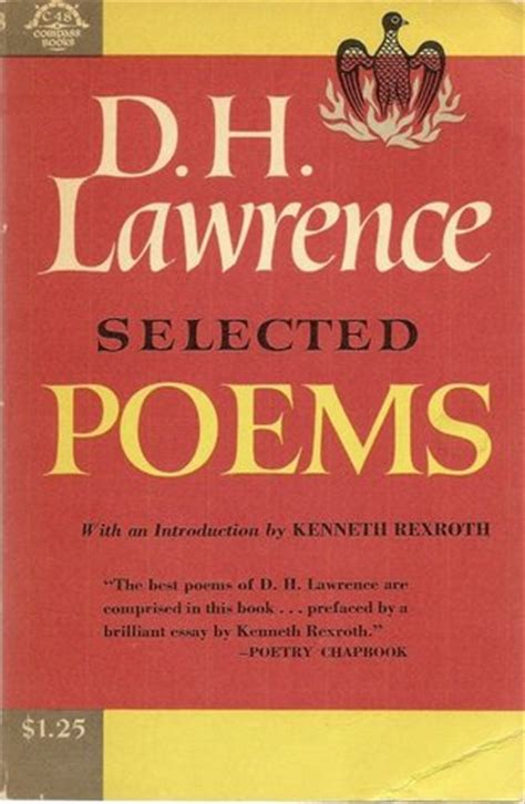 witness the selected poems 1935210319 d h lawrence selected poems review