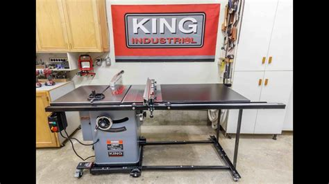 table accessories canada king industrial 10 cabinet table saw and accessories