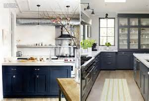 What Color Should I Paint My Kitchen With Dark Cabinets kitchen conundrum in navy a story about a home