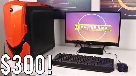 complete  gaming setup  broke pc gamers youtube