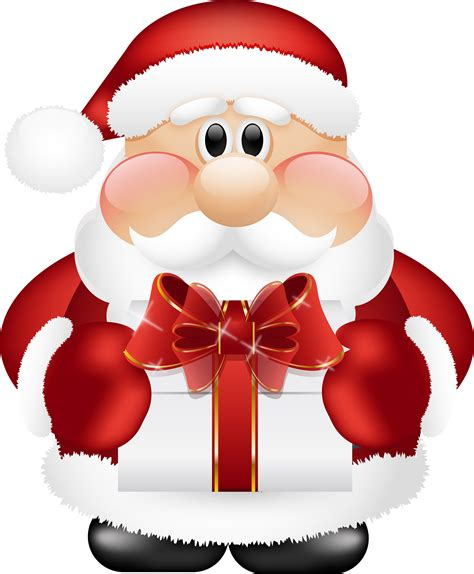 babbo natale clipart santa claus png images free santa claus png