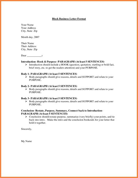 business letter heading purpose 6 business letter block format adjustment letter