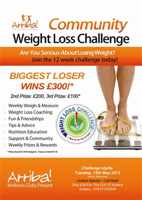 weight loss challenge flyer template weight loss challenge flyer template community weightloss