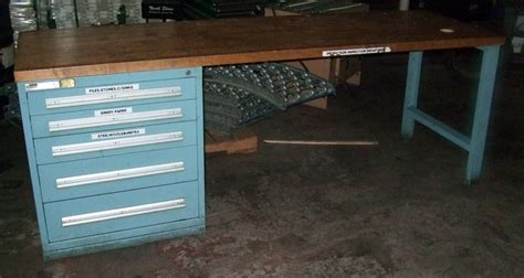 used work bench new used workbenches stanley vidmar equipto