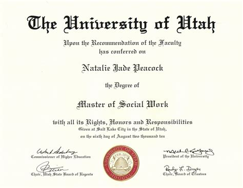 degree certificate template pin phd certificate template on