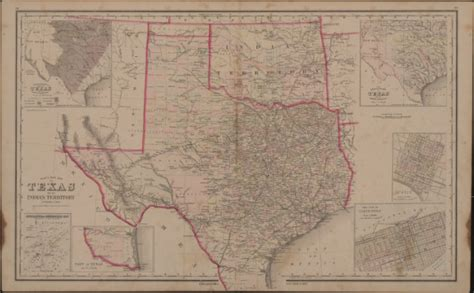 texas indian territory map file gray s new map of texas and indian territory jpg wikimedia commons