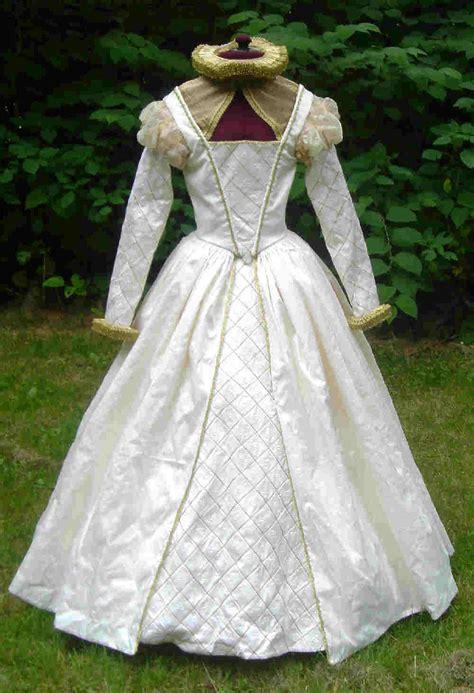 Wedding Attire During Elizabethan Era elizabethan wedding gown