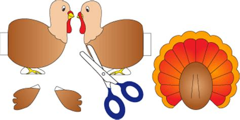 How To Make A Turkey Out Of Paper - turkey feather template www pixshark images