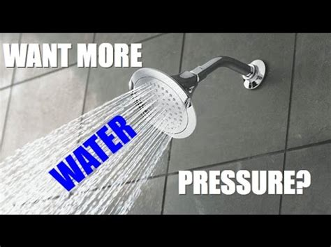 how to increase water pressure in house how to increase water pressure in shower new high pressure boosting water bath shower