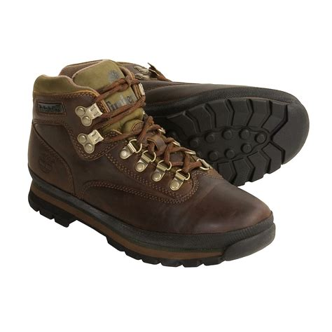 timberland eurohiker hiking boots for 2289m save 40