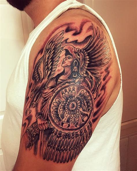 aztec tattoos and meanings 100 best aztec designs ideas meanings in 2019