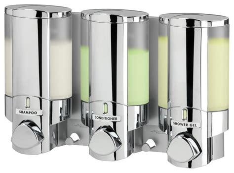 aviva 3 shower dispenser contemporary bathroom