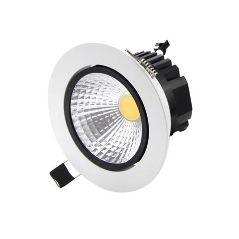Lu Downlight Led 220v 7w 2 free shipping recessed led cob downlight 5w 7w 9w 12w led cob spot light led cob ceiling l ac