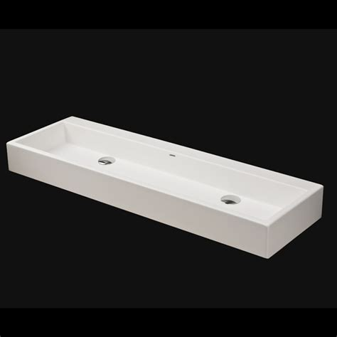 Lacava 5104 Luce Vessel Solid Surface Sink With Overflow :: Bathroom Sinks :: Bath Kitchen and