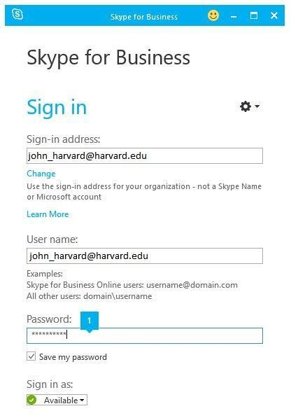Login Harvard Mba by Why Can T I Log Into Skype For Business Office 365 For