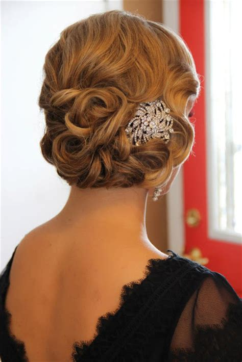 Wedding Hair And Makeup Mn by Obsession Great Gatsby Style Onsite Muse Wedding Hair