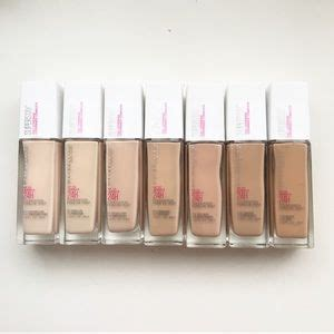 Maybelline Superstay Coverage Foundation maybelline makeup stay coverage foundation x7