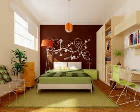 Apartment Bedroom Wall Ideas How To Decorate A Wall Lots Of Ideas Between Stencil And