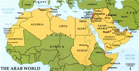 map of arab countries madrasah at tayyibah school of arabic why learn arabic
